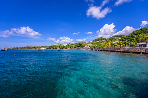 Central America「Caribbean, Grenadines, St. Vincent, near Arnos Vale」:スマホ壁紙(7)
