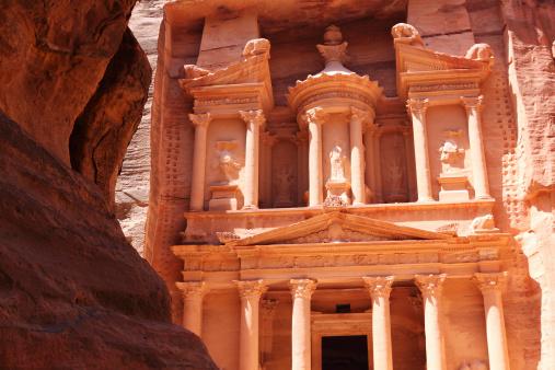 UNESCO「Tresury building in Petra Jordan」:スマホ壁紙(8)