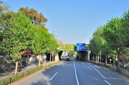 Urban Road「Hijiri Bridge on Sotobori Street」:スマホ壁紙(7)