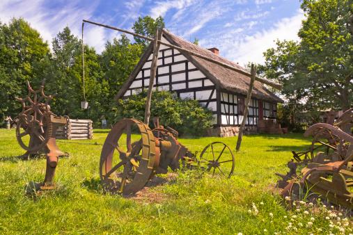 Chalet「Polish farm, Wielkopolska, Poland」:スマホ壁紙(11)