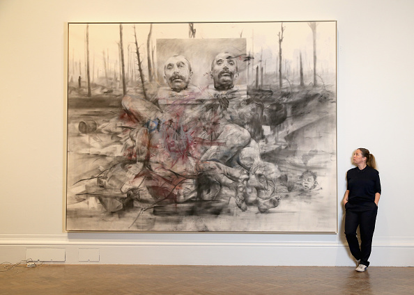 Artist「Jenny Saville Curates La Peregrina, A Response To The Royal Academy's Rubens Exhibition」:写真・画像(7)[壁紙.com]
