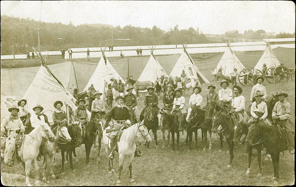 Farm「101 Ranch & Buffalo Bill Wild West Show, Circa 1900S.」:写真・画像(3)[壁紙.com]