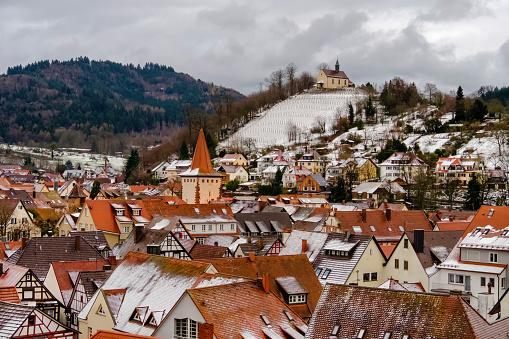 Baden-Württemberg「Gengenbach in Winter (Baden-Württemberg, Germany)」:スマホ壁紙(16)