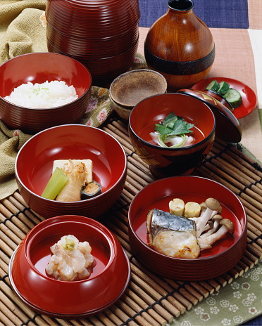 Sake「Lunch in Shingen Bento container」:スマホ壁紙(16)