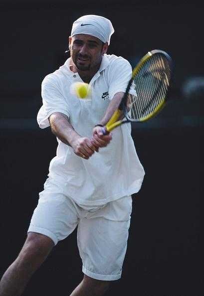 アンドレ アガシ「Wimbledon Lawn Tennis Championship」:写真・画像(13)[壁紙.com]