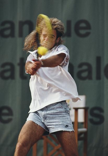 アンドレ アガシ「French Open Tennis Championship」:写真・画像(4)[壁紙.com]