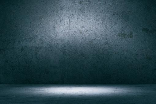 Shadow「Empty spotlit concrete background」:スマホ壁紙(5)