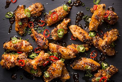 Chicken Wing「Honey Serrano Chicken Wings」:スマホ壁紙(8)