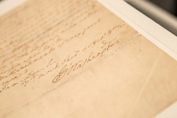 Writing「George Washington Letter About The Constitution Up For Sale By Christie's Auction House」:写真・画像(15)[壁紙.com]