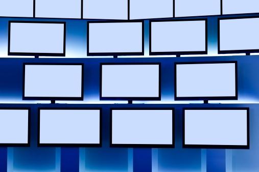 Emitting「LED LCD TV screens wall, screen paths」:スマホ壁紙(16)