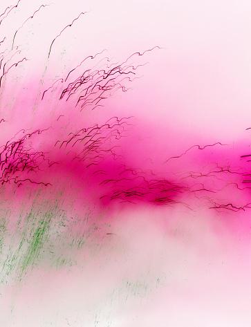 バイタリティ「Watercolour and explosion, abstract landscape」:スマホ壁紙(11)