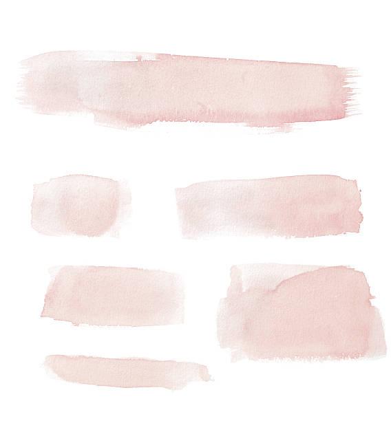 Watercolour Pink Painted Buttons / Lines:スマホ壁紙(壁紙.com)