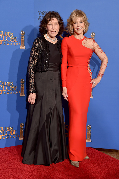 Evening Gown「72nd Annual Golden Globe Awards - Press Room」:写真・画像(17)[壁紙.com]
