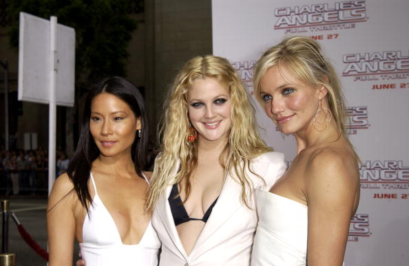 Charlie's Angels「Lucy Liu, Drew Barrymore and Cameron Diaz」:写真・画像(15)[壁紙.com]