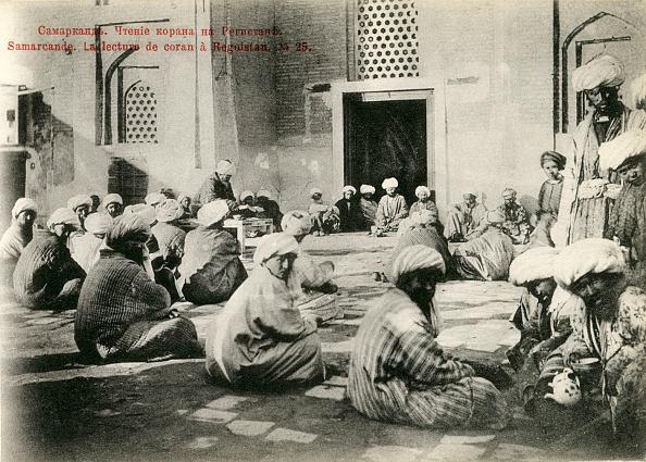 Samarkand「Reading the Quran at the Registan,」:写真・画像(6)[壁紙.com]