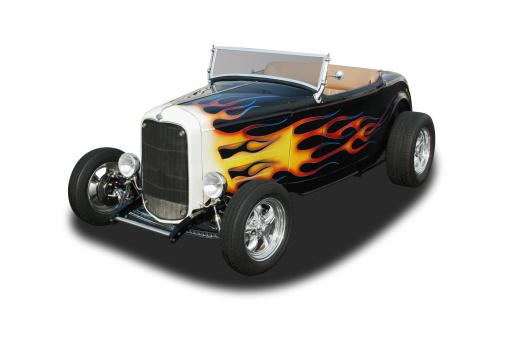 Hot Rod Car「Auto Car - 1932 Ford Roadster Hot Rod」:スマホ壁紙(15)