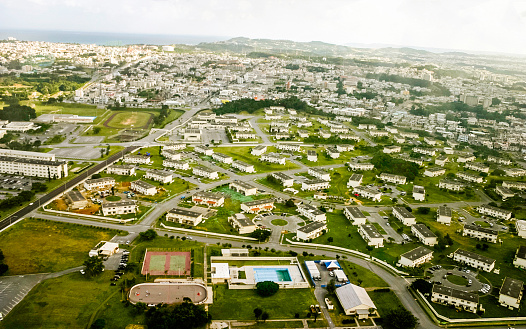 Okinawa Prefecture「Okinawa, Japan: Aerial View」:スマホ壁紙(12)