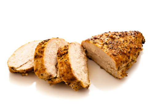Meat Dish「Sliced grilled and seasoned chicken breast」:スマホ壁紙(4)