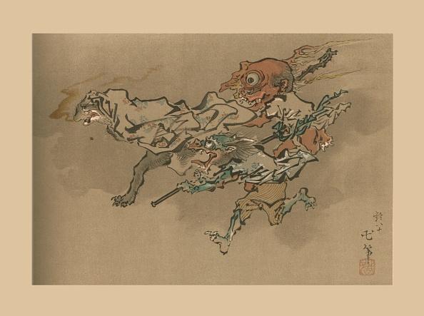 Lithograph「The Goblin Flight」:写真・画像(9)[壁紙.com]