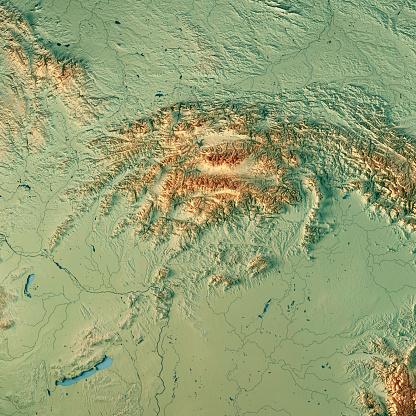 CG「スロバキア国 3 D 地形図を表示します。」:スマホ壁紙(19)