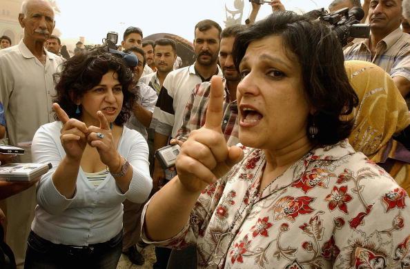 Baghdad「Iraqi Women Protest Over Rights In Baghdad」:写真・画像(0)[壁紙.com]
