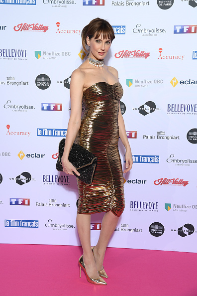 "Metallic Shoe「27th ""Trophees Du Film Francais"" : Photocall At Palais Brongniart In Paris」:写真・画像(0)[壁紙.com]"