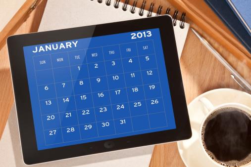 January「Digital tablet」:スマホ壁紙(14)