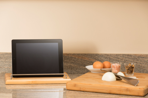 Digital Tablet「Digital tablet in the kitchen」:スマホ壁紙(16)