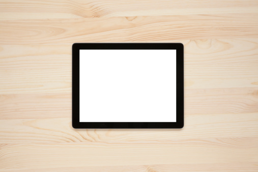 Touch Screen「Digital tablet with a blank screen」:スマホ壁紙(6)