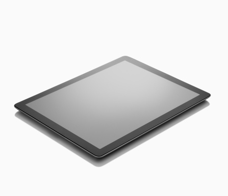 Touch Screen「Digital tablet on White background」:スマホ壁紙(12)