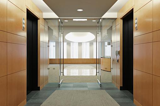 Door「Elevator lobby」:スマホ壁紙(10)