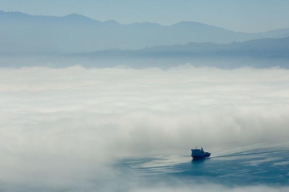 Passenger Craft「Thick Fog Blankets Wellington」:写真・画像(15)[壁紙.com]