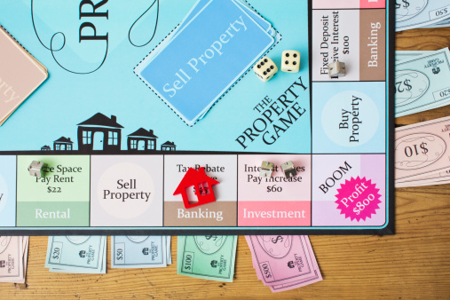 Board Game「Property board game」:スマホ壁紙(6)