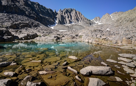 インヨー国有林「Payne Lake and Gendarme Peak, Inyo National Forest, California, America, USA」:スマホ壁紙(17)