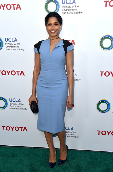 Freida Pinto「UCLA Institute Of The Environment And Sustainability Celebrates Innovators For A Healthy Planet - Arrivals」:写真・画像(11)[壁紙.com]