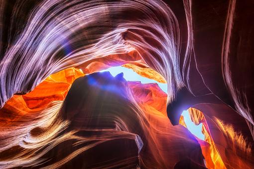 Antelope Canyon「Upper Antelope Canyon」:スマホ壁紙(9)