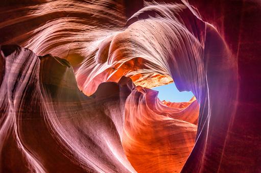 Antelope Canyon「Upper Antelope Canyon」:スマホ壁紙(6)