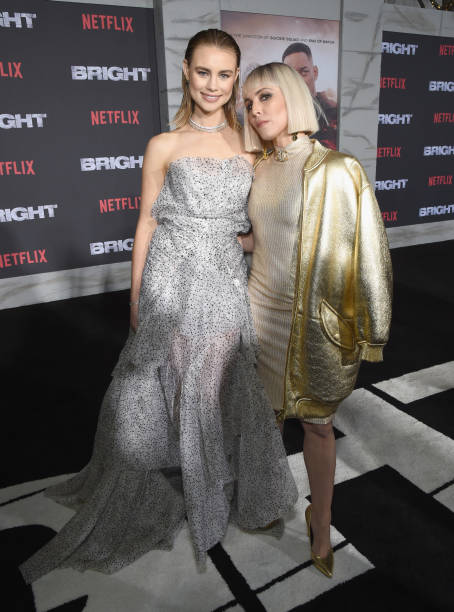 銀色「LA Premiere of Netflix Films 'BRIGHT'」:写真・画像(16)[壁紙.com]