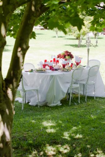 Formal Garden「Formal meal in garden」:スマホ壁紙(9)