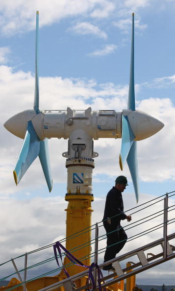 Turbine「World's Largest Tidal Power Turbine Is Unveiled」:写真・画像(7)[壁紙.com]