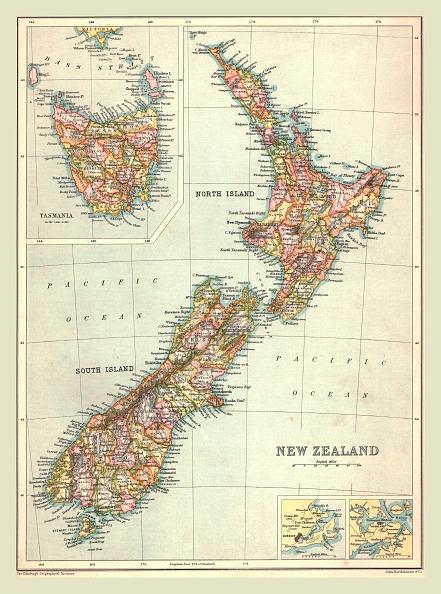 Land「Map Of New Zealand」:写真・画像(13)[壁紙.com]
