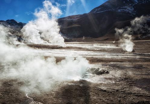Tatio Geysers「Geysirs, Atacama Desert, Chile」:スマホ壁紙(13)