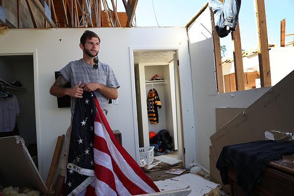 Rippled「Florida  Panhandle Faces Major Destruction  After Hurricane Michael Hits As Category 4 Storm」:写真・画像(6)[壁紙.com]