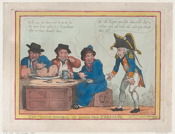 Patriotism「The French Admiral On Board The Euryalus」:写真・画像(17)[壁紙.com]