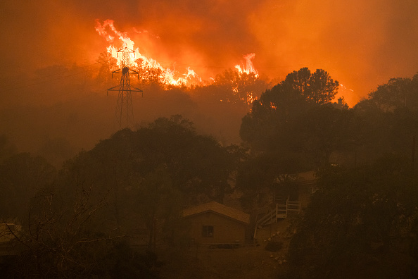 Sequoia National Forest「French Fire In California Burns Almost 15,000 Acres」:写真・画像(16)[壁紙.com]