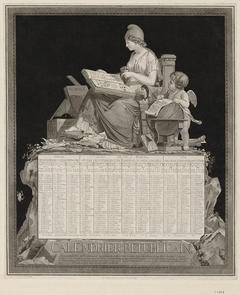 カレンダー「The French Republican Calendar Calendrier Republicain Francais」:写真・画像(15)[壁紙.com]