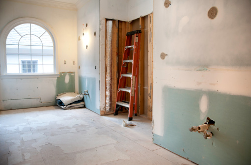 Home Addition「Master Bathroom Remodeling and Renovation in Progress」:スマホ壁紙(12)