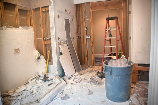 Demolished「Master Bathroom Remodeling: Demolition Phase」:スマホ壁紙(9)