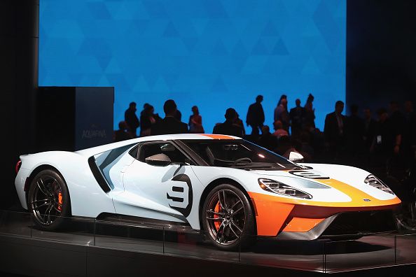 Ford GT「The North American International Auto In Detroit Hosts Automakers Debuting Latest Vehicles」:写真・画像(18)[壁紙.com]