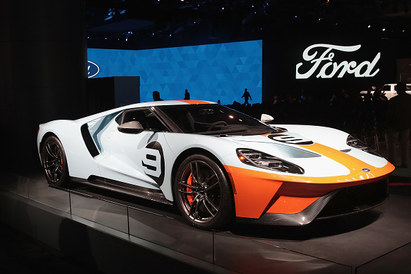 Ford GT「The North American International Auto In Detroit Hosts Automakers Debuting Latest Vehicles」:写真・画像(9)[壁紙.com]